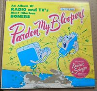 Pardon My Blooper LP SQ 93976 The Longines Symphonette Society Volume 8 PMB 8
