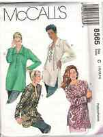 8565 Misses McCalls Vintage Pattern Camisole + Loose Fitting Tunic UNCUT SEWING