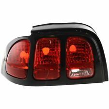 For Mustang 96-98, Driver Side Tail Light, Clear and Red Lens