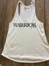NEW Spiritual Gangster Racer back Tank top off White size s warrior