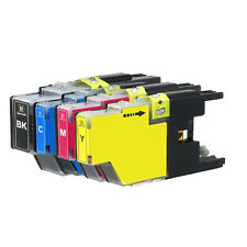 4 PK Ink Cartridges Set fits Brother LC71 LC75 MFC-J280W MFC-J425W MFC-J430W