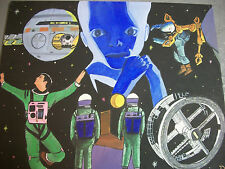 2001 a Space Odyssey  an  original painting