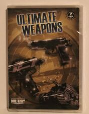 Ultimate Weapons (DVD, 2009, 2-Disc Set) MILITARY PISTOL RIFLE TANKS FIRE POWER