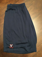 New Virginia UVA Cavaliers Men's Football Team Issued Blue White Nike Shorts 2XL
