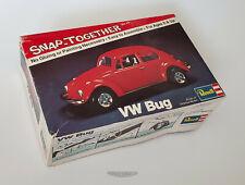 🚦Revell VW BUG Snap-Together 1/32 Scale Model Car Kit - 1974