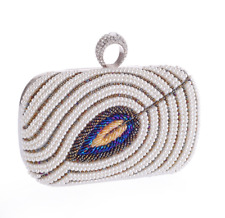 Women's Evening Handbags Crystal Clutch Beads Purse Bags Envelope Bag Sequined