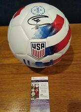CHRISTIAN PULISIC SIGNED Team USA SOCCER BALL JSA autograph FC CHELSEA