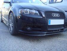 Audi A3 S3 8P 8PA Parachoques Delantero Copa Spoiler Lip Cenefa