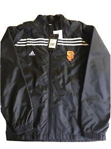 San Francisco Giants Adidas Windbreaker Jacket - Size Large