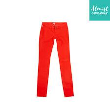 Rrp €155 Armani Junior Jeans Size 16Y / 175Cm Stretch Garment Dye Zip Fly
