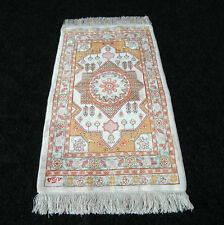 Seidenteppich Hereke 70 x 40 cm Orient Teppich Seide Old Turkish Silk Carpet Rug