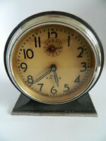 1932-1934 Westclox Big Ben Style 3 Alarm Clock Nickel Finish-Working