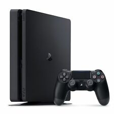 New Sony CUH-2115B PlayStation 4 Slim 1TB with Wireless Controller & accessories