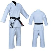 Double Weave Competition//Instructor Quality JUJUTSU Uniform 900GSM White Judo