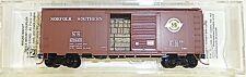 Norfolk Southern 40 Estándar BOX CAR Micro Trains 020 00 856n 1:160 emb.orig HF3