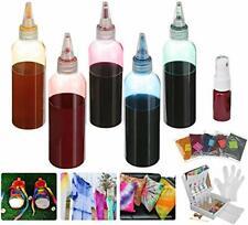 Essort Tie Dye Kit Tie Dye Set Rainbow Colors DIY Tie-Dye One-Step Clothes Socks