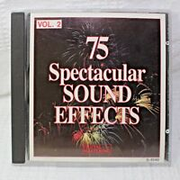 75 Spectacular Sound Effects Volume 2 CD Digital Mastering S-4540 Made in Canada