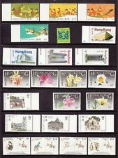Hong Kong 5 sets of mint stamps.