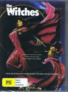 THE WITCHES DVD From The Imagination Of Jim Henson NEW & SEALED Free Post