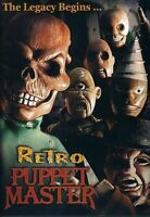 Retro Puppet Master-Full Moon DVD-Region 1-The Legacy Begins...