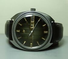 Vintage Enicar Automatic Day Date Swiss Mens Wrist Watch G226 Used Antique Old