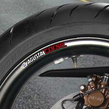 MV AGUSTA CORSE jante de roue stickers B-Mille RSV F4