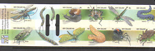 New Zealand 1997 INSECTS/Beetles/Moth 10v bklt n15929