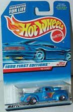 Hot Wheels 1998 First Editions 20/40 40 Ford Truck #654 Silver Blue Variation