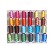 SPRING 24 CONES POLYESTER MACHINE EMBROIDERY THREAD THREADELIGHT 1100yds 40wt