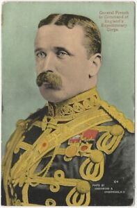 General French Commander BEF England Expeditionary Force World War 1 Postcard