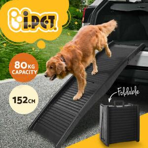 i.Pet Dog Ramp Pet Stairs Steps Ramps Ladder Foldable Portable Folding