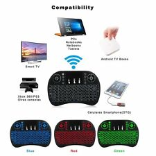 Mini 2.4G Backlit Wireless Touchpad Keyboard Air Mouse For Android TV Box PC Pad