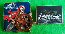 Disney  Pirates of the Caribbean Curse of Black Pearl Opening Day 3D Pin + ghost