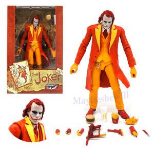 "NECA Batman Joker McDonald Tpye Funny Action Figure 7"" Play Toy Model Gift"