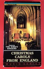 Christmas Carols From England (VHS, 1991) King's Singers