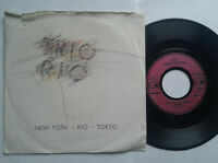 "Trio Rio / New York Rio Tokyo 7"" Vinyl Single 1988 mit Schutzhülle"