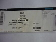 Blur Indie & Britpop Concert Memorabilia