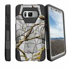 For Samsung Galaxy Note 8 SM-N950 Shockproof Dual Layer Bumper Case - Patterns
