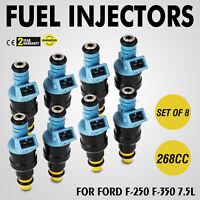 Set Fuel Injectors for Ford E350 F250 F350 7.5L 0280150947 Set of 8 Look