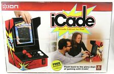 New Sealed Ion iCade BlueTooth Arcade Cabinet Joystick Controller For iPad 2011