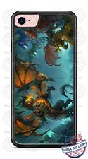 Fire Breathing Dragon Beast Customize Phone Case Cover For iPhone Samsung etc
