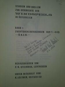 Studien und Quellen Zur Geschichte Des Windspiels Osterreich Greyhounds Austria