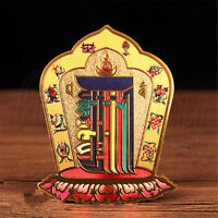 Tibetan Buddhist Gilding Kalachakra Amulet Sticker Wall Poster Home Door Decor