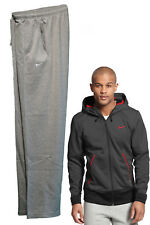 NIKE Mens AD Athletic Dept Summer Weight Grey Fleece Jogging Trousers Bottoms M