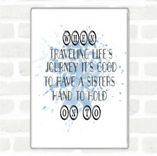 A Sisters Hand Inspirational Quote Jumbo Fridge Magnet