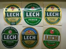 72 Beer label/Bier-Etiketten Polish