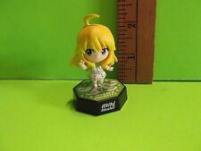 """Bandai 2012 Adorable Miki Hoshii 2.25""""in mini Figure Darling!!"""