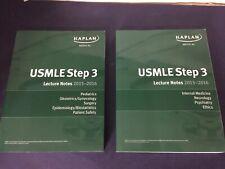 Kaplan USMLE Step 3 Lecture Notes 2015-2016 Bundle (Paperback)
