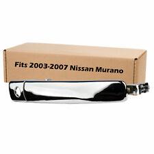 Front Left Car Door Chrome Handle for 2003 2004 2005 2006 2007 Nissan Murano