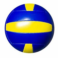 Volleyball Volley Ball Official Size 5 Beach Ball Pool Ball blue yellow holiday